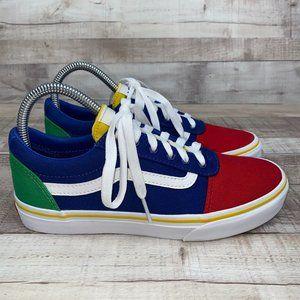 Vans Color Block Old Skool Low Top Casual Shoes 5